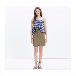 Madewell Portside Skirt with tie